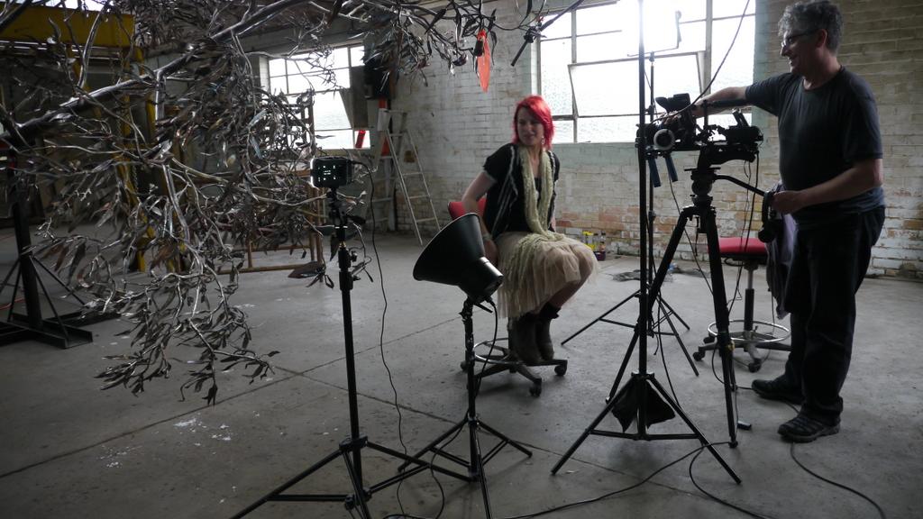 Interviewing Amanda